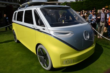 I.D. Buzz concept: The VW Bus is back, and it's electric!