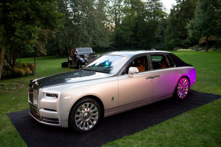 British Ambassador to the United States of America Heralds the Arrival of the New Rolls-Royce Phantom