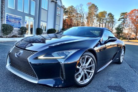 2018 Lexus LC 500h Touring in Nightfall Mica