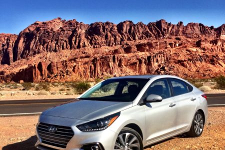 2018 Hyundai Accent Sedan: Welcome to the Valley of Fire