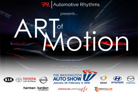 "3rd Annual ""ART-of-Motion"" Exhibit at the 2018 Washington Auto Show"