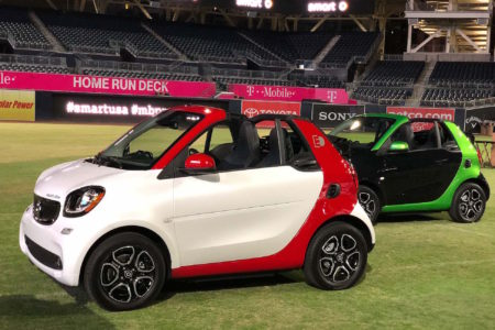 All-new smart fortwo electric drive cabrio: pump-less, top-less and size-less!