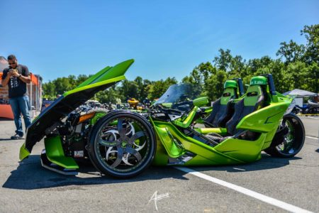 Custom Cobra Polaris Slingshot at ART-of-Motion
