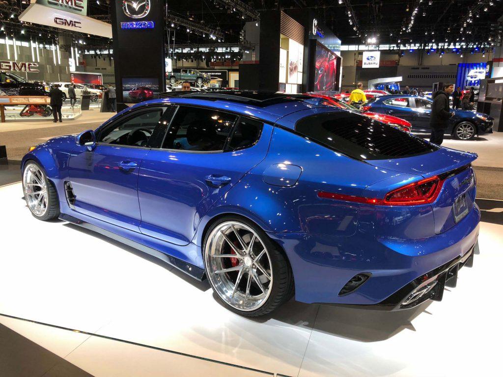 West Coast Kia >> 2018 Kia Stinger GT by West Coast Customs: 2018 Chicago Auto Show | AUTOMOTIVE RHYTHMS