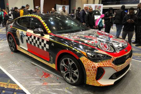 3rd Annual ART-of-Motion Exhibit at the 2018 Washington Auto Show