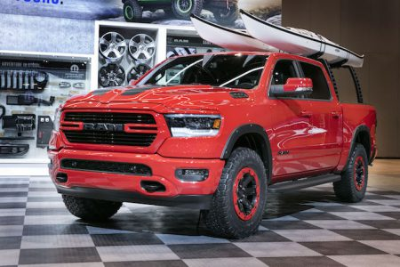 Ram and Mopar Customize the 2019 Ram 1500