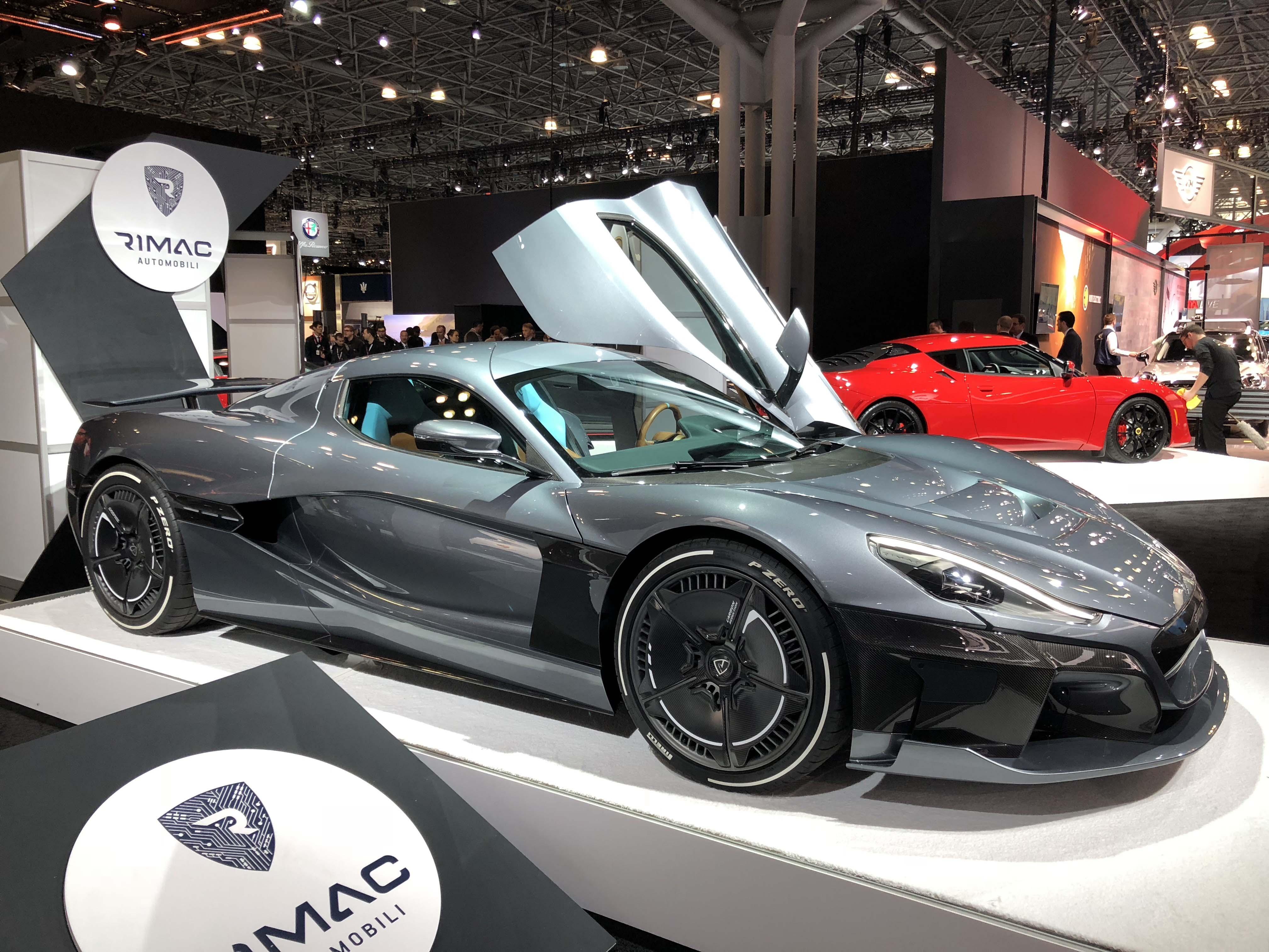 Rimac Automobili Concept 2 All Electric Super Performance