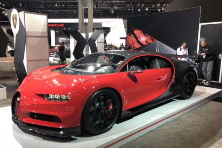 Bugatti Chiron Sport at the 2018 New York International Auto Show