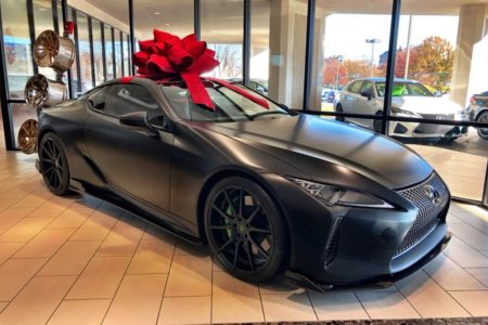 Atlanta Lexus Dealer Customizes Performance Rides In-house