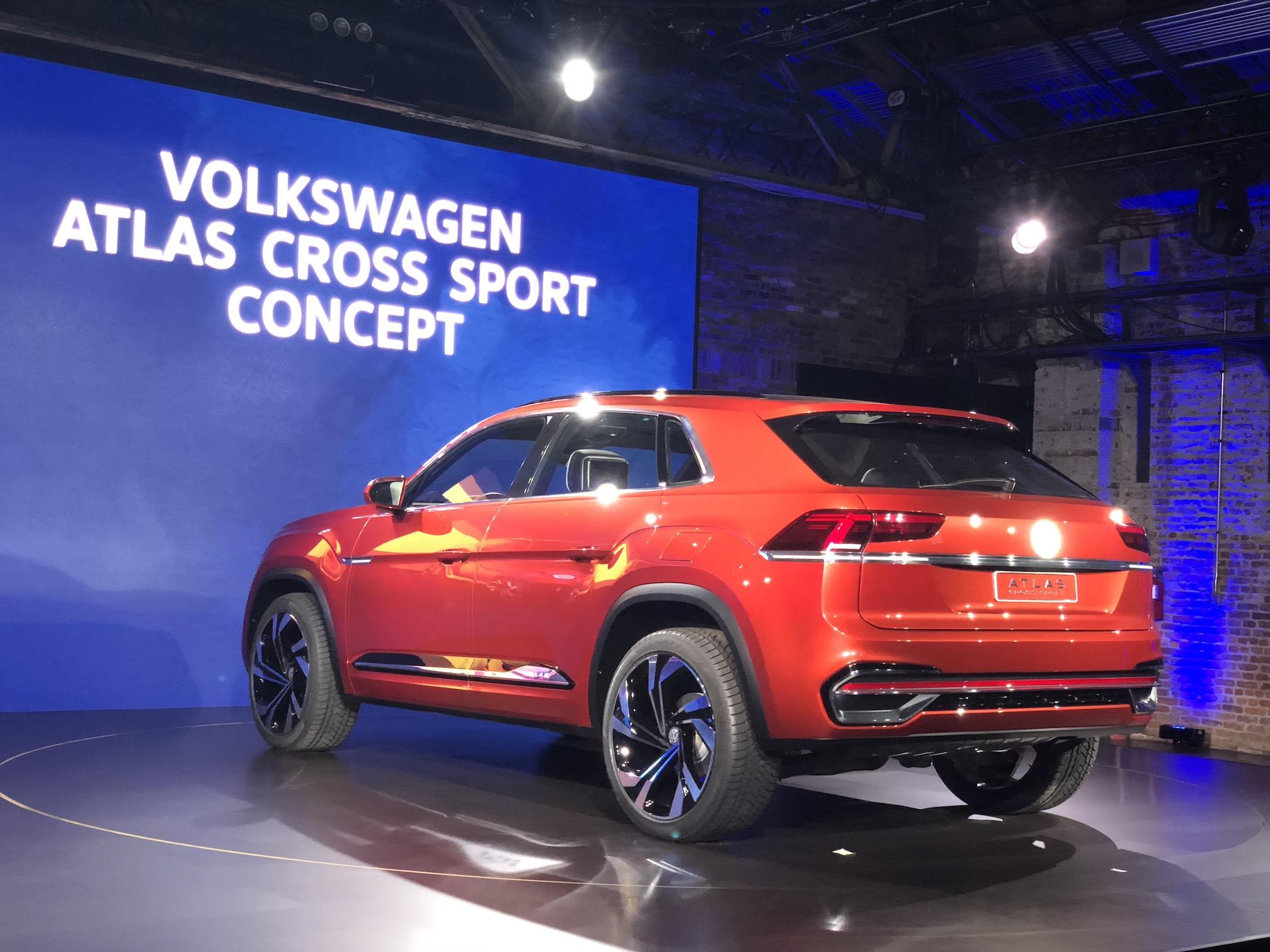 Volkswagen Atlas Cross Sport Concept Automotive Rhythms