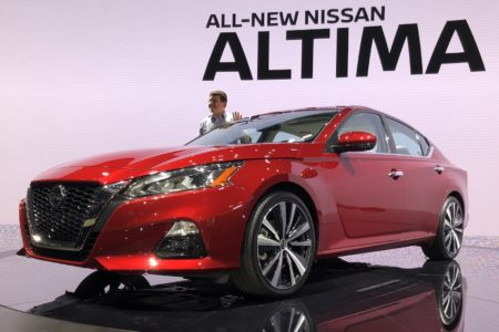 2019 Nissan Altima Introduced at the New York International Auto Show