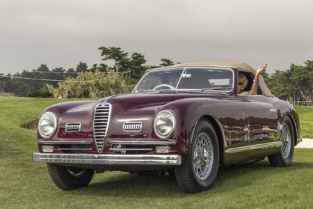 RARE 1951 ALFA ROMEO 6C 2500 SS WINS 2018 CONCORSO ITALIANO BEST IN SHOW AWARD