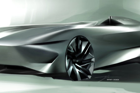 INFINITI Prototype 10 to be unveiled at the 2018 Pebble Beach Concours d'Elegance
