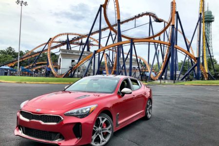 Kia Stinger GT2 Summer Road Trip: National Roller Coaster Day Weekend