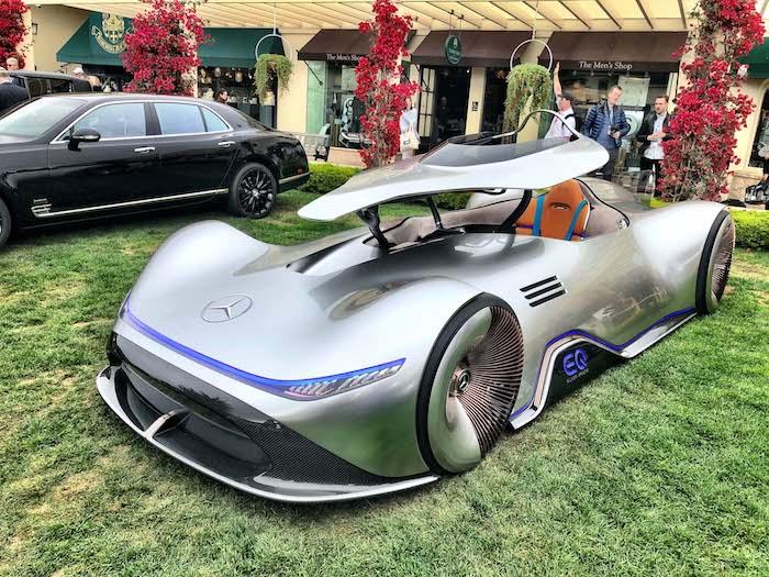Pebble Beach Car Show >> 2018 Pebble Beach Concours D Elegance The Concept Lawn