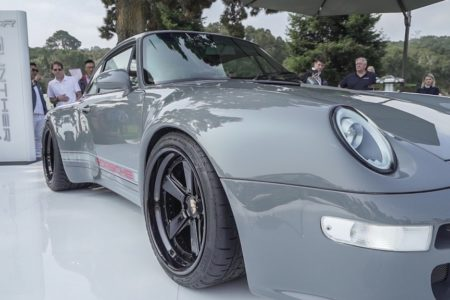 PIRELLI P ZERO CORSA TIRES CHOSEN AS ORIGINAL EQUIPMENT FOR THE NEW 'GUNTHER WERKS TRANSFORMED 993 SPORT TOURING' MODEL