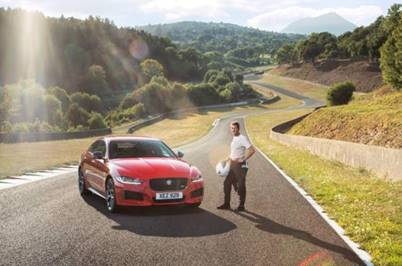 Jaguar XE 300 Sport Sets Lap Record at Forgotten French Circuit