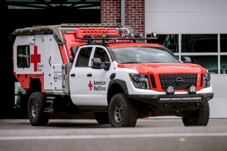 The Nissan Ultimate Service TITAN & The America Red Cross