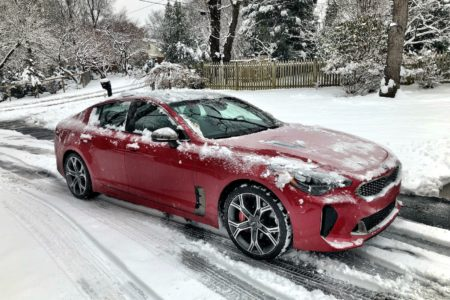 2018 Kia Stinger GT2 AWD V6: Wintry Fastback Performance