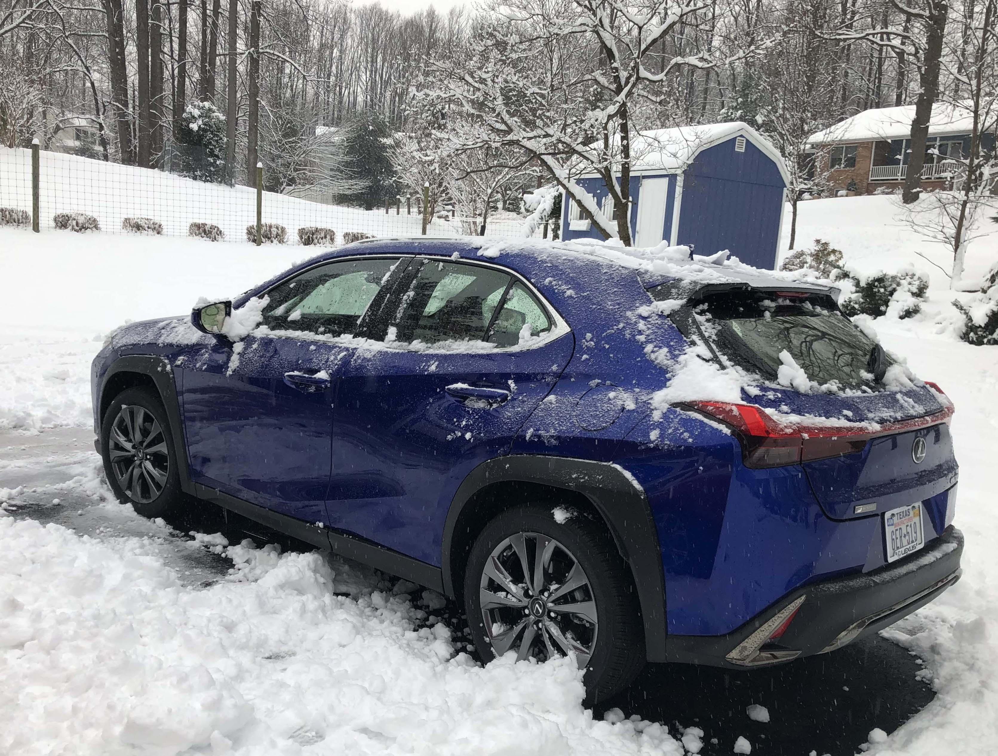 lexus wipers snow mode