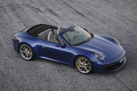 Open-air thrills: The new 2020 Porsche 911 Carrera S and 4S Cabriolet