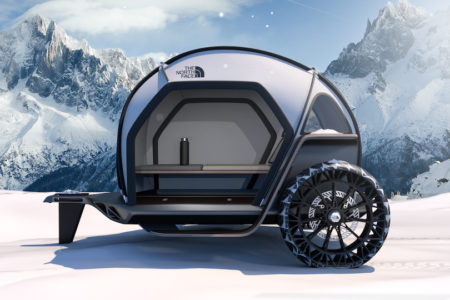 BMW Designworks Collaborates with The North Face to Imagine New Camper Concept