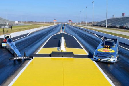 Houston Raceway Park 'Making the Switch' to Pennzoil