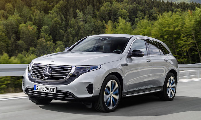 Introducing the new Mercedes-Benz EQC