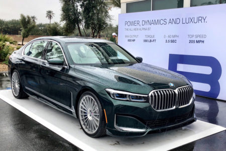 2020 ALPINA B7 World Premiere at BMW Group Test Fest