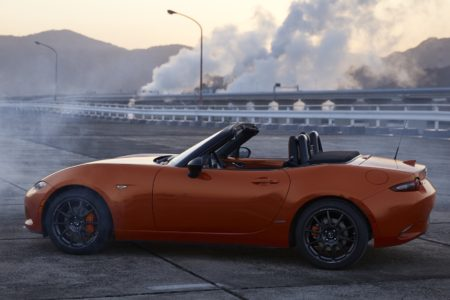MX-5 Miata 30th Anniversary Edition in Racing Orange