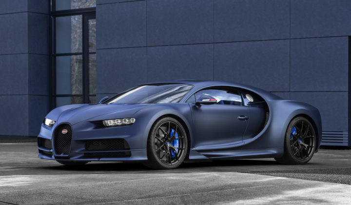 "Chiron Sport ""110 ans Bugatti"": a tribute to France"