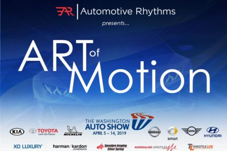 "4th Annual ""ART-of-Motion"" Exhibit: 2019 Washington Auto Show"