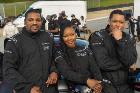 Lexus 0 to 60 Celebrity Racing Series with actor Mekhi Phifer