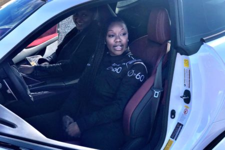 Lexus 0 to 60 Celebrity Racing Series with Olympic Sprinter Carmelita Jeter