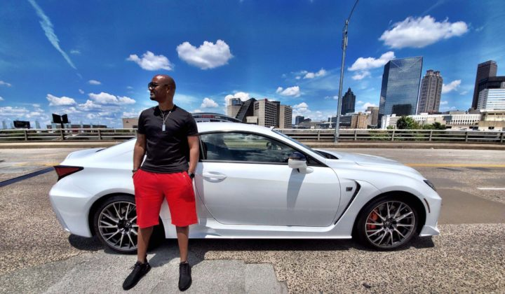 Big Tigger and the 2020 Lexus RC F: Atlanta Lifestyle