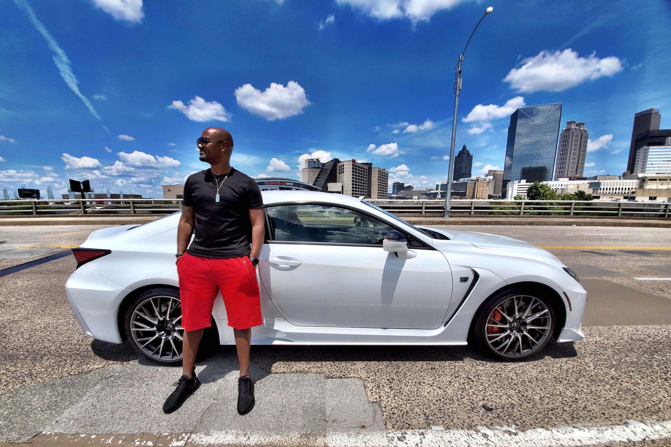 Lexus Of Atlanta >> Big Tigger And The 2020 Lexus Rc F Atlanta Lifestyle