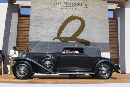 "1931 Stutz DV 32 Convertible Victoria by Le Baron Named ""Best of Show"" at 2019 The Quail, A Motorsports Gathering"