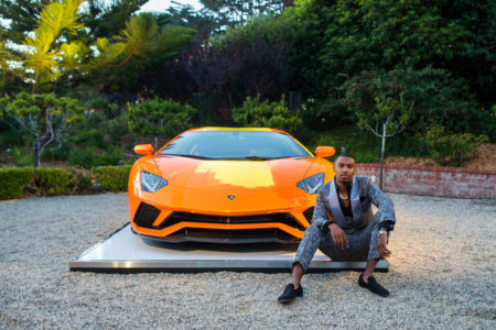 Artist Skyler Grey Takes on the Lamborghini Aventador S