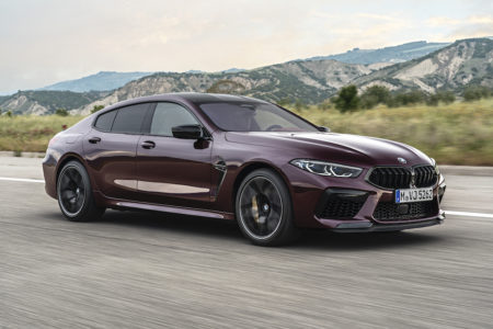 2020 BMW M8 Gran Coupe Competition Photo Gallery