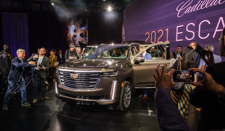 Spike Lee Introduces the 2021 Cadillac Escalade in Hollywood