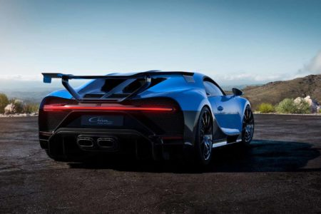 Bugatti Chiron Pur Sport Performance Video
