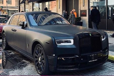 Meek Mill Donates Rolls-Royce Phantom for COVID-19 All In Challenge