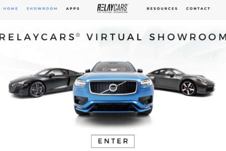 RELAYCARS REVAMPS WEBSITE TO INCLUDE AT-HOME, VIRTUAL SHOWROOM EXPERIENCE