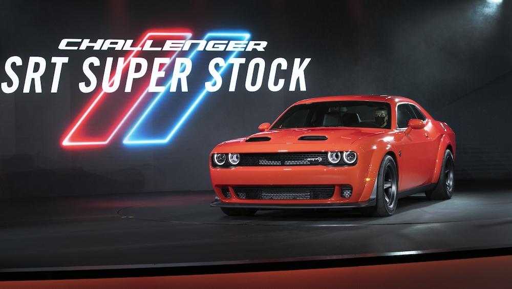 2020 challenger srt super stock is the newest dodge drag