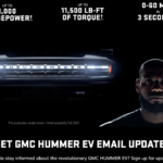 GMC HUMMER EV to be Revealed This Fall: Features Lebron James