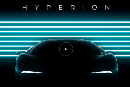 HYPERION REVEALS SNEAK PEEK VIDEO OF HYDROGEN-POWERED ELECTRIC SUPERCAR