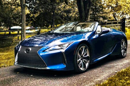 2021 Lexus LC 500 Convertible Inspiration Series: Automotive Erotica