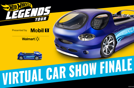 Jay Leno to host Virtual Hot Wheels Legend Tour Finale