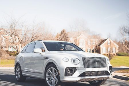 New Video: 2021 Ghost White Bentley Bentayga: Embodiment of Opulence