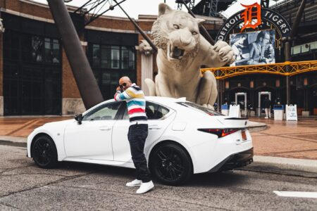 Detroit Lifestyle Tour with Dr Darrius in the 2021 Lexus IS 350 F Sport AWD